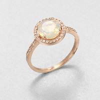 KALAN by Suzanne Kalan - Semi-Precious Multi-Stone &amp; 14K Rose Gold Ring