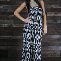 Fire Dance Maxi- Black