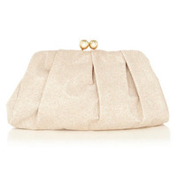 Gathered Bobble Clutch Bag