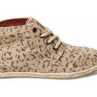 Snow Leopard Women&#x27;s Desert Botas | TOMS.com