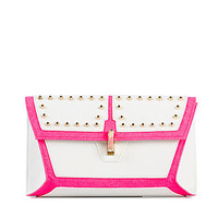 Stud Fluro Trim Clutch, River Island