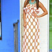 Get To The Point Maxi Dress: Clementine | Hope&#x27;s