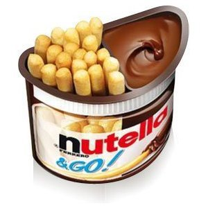 Nutella and GO! Snack - Case of 12