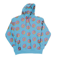 All Over Donut Blue Hoodie – Odd Future