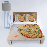DENY Designs Home Accessories | Lisa Argyropoulos Sea Swings Duvet Cover