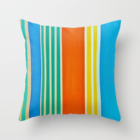 Colors of Italy Throw Pillow by Michelle Silsbee