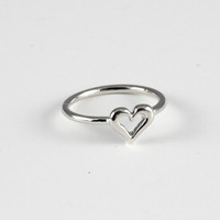 Silver Heart Knuckle