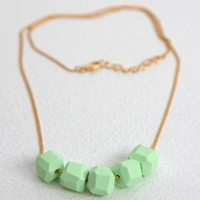Geo Beaded Necklace | Little Paper Planes
