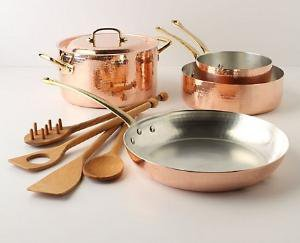 Ruffoni Copper Cookware Set-Anthropologie.com