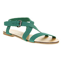 Office IBIZA TOWN TURQUOISE LEATHER Shoes - Womens Sandals Shoes - Office Shoes