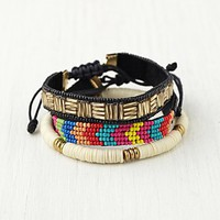 Free People Skinny Bead Friends Bracelet Set