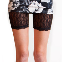 Jonathan Aston Black Lace Short