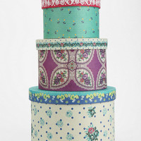 Patterned Storage Box - Set Of 3