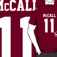 "Teen Wolf ""McCALL 11"" Lacrosse iPhone & iPod Cases"