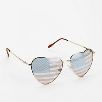 Americana Heart Sunglasses