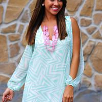Boom Boom Pow Dress: Mint | Hope&#x27;s