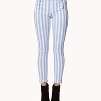 Mailot Vertical Striped Jeans | FOREVER 21 - 2022482431