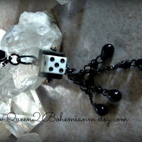 Dice Belly Button Ring, Belly Button Jewelry, Hipster, Direct Checkout, Ready to Ship