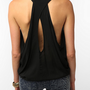 Sparkle & Fade Drapey Sleeveless Top