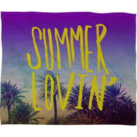 DENY Designs Home Accessories | Leah Flores Summer Lovin Fleece Throw Blanket
