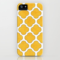 yellow clover iPhone & iPod Case by her art