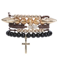 5 Piece Karma Bracelet | Shop Jewelry at Wet Seal