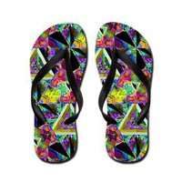 Honeycomb 1 B Flip Flops> Honeycombs> The Art Works and Image Factory