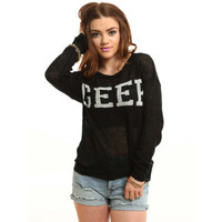 Geek Sweater