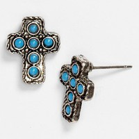 South Sun Cross Stud Earrings | Nordstrom