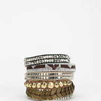 Urban Outfitters - HIPANEMA Silver Cuff Bracelet