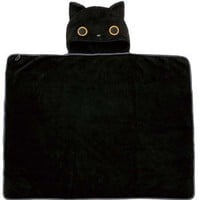 San-x Kutusita Nyanko Hooded Blanket/Poncho