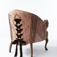 The Corset Chair by sarahlouisedix on Etsy