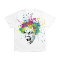 Scream! Men's All Over Print T-Shirt> Apparel> Olechka Art and Design