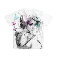 Butterflies Men's All Over Print T-Shirt> Apparel> Olechka Art and Design