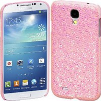 Amazon.com: Cimo Bling Sparkle Hard Cover Back Case for Samsung Galaxy S IV S4 - Pink: Cell Phones & Accessories