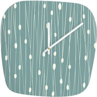 DENY Designs Home Accessories | Heather Dutton Entangled Modern Clock