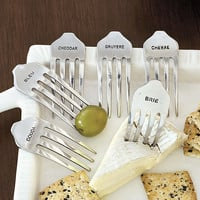 Set of 6 Cheese Forks | Ballard Designs