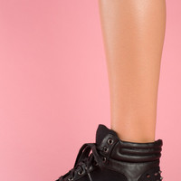 Luxury Sneaks  Black