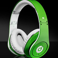 FREE SHIPPING Monster Beats by Dr. Dre Studio High-Definition Headphones GREEN- 100% AUTHENTIC from StarWorld Mall