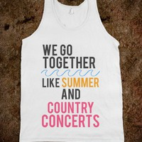 Summer & Country Concerts - emmy belle's - Skreened T-shirts, Organic Shirts, Hoodies, Kids Tees, Baby One-Pieces and Tote Bags