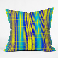 DENY Designs Home Accessories | Randi Antonsen Blue Sun Outdoor Throw Pillow