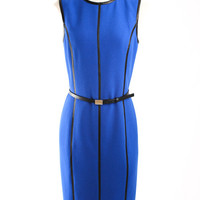 Michael Kors Runway Sheath Dress with Leather Trim Michael Kors 10 by Editors' Picks
