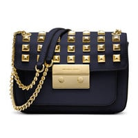 MICHAEL Michael Kors  Small Sloan Studded Shoulder Bag
