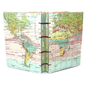 Map This Coptic Bound Handmade Journal