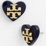 Tory Burch 'Tilsim' Logo Heart Stud Earrings | Nordstrom