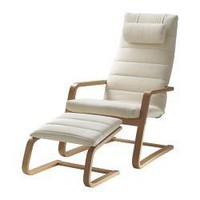 BOLIDEN Chair & Footstool