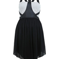 Harness Strap Dress - Dresses  - Apparel