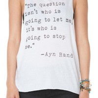 Brandy ♥ Melville |  Ayn Rand Tank - Just In