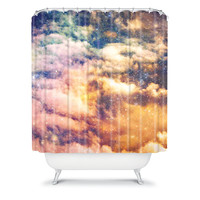 "Shannon Clark ""Cosmic"" Shower Curtain"