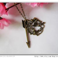 Fashion Adjustable Hunger Games NecklaceVintage by sevenvsxiao